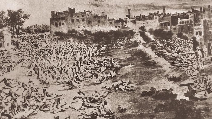 Image Credit : https://www.hindustantimes.com/punjab/revisiting-jallianwala-100-years-on-bloodbath-on-baisakhi-the-massacre-that-shook-the-british-raj/story-wjIbGE4PjWi59qwQMpY5MJ.html
