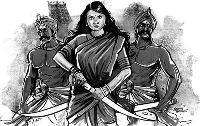 Image Credit :https://madrascourier.com/wp-content/uploads/2018/02/Velu-Nachiar-Madras-Courier-02-1.jpg