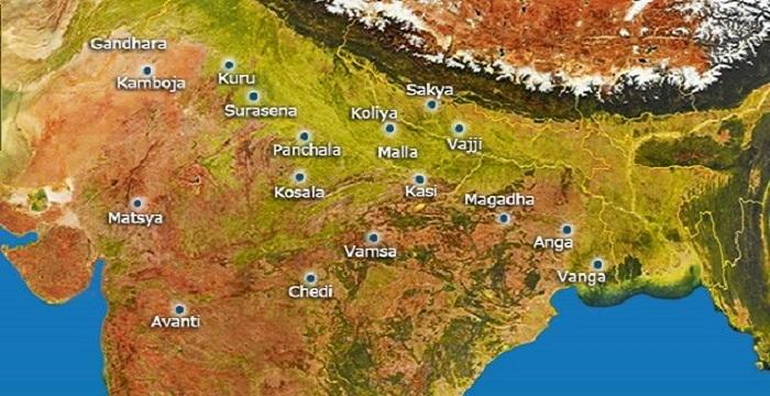 16 Mahajanapadas History Location Capitals