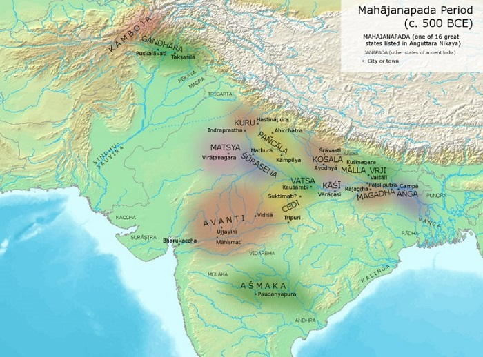 Image Credit : https://en.wikipedia.org/wiki/Vajji
