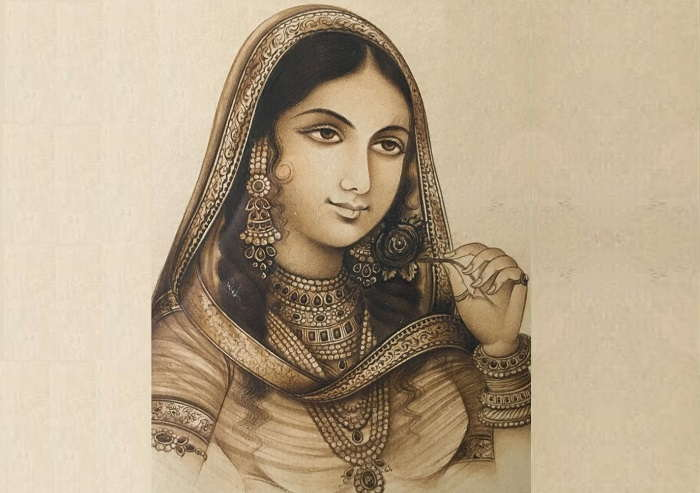 Image Credit : https://anjanadesigns.blogspot.com/2014/12/mughal-romance-nur-jahan-and-jahangir.html