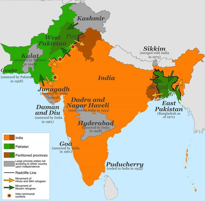 Image Credit : https://www.thoughtco.com/what-was-the-partition-of-india-195478