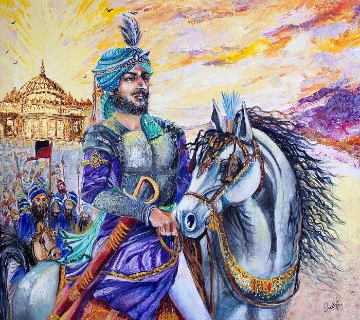 Image Credit : https://pixels.com/featured/maharaja-ranjit-singh-sarabjit-singh.html