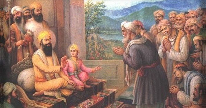 Image Credit : https://scroll.in/article/827788/the-tale-of-guru-tegh-bahadur-and-aurangzeb-embodies-the-simplification-of-sikh-mughal-history